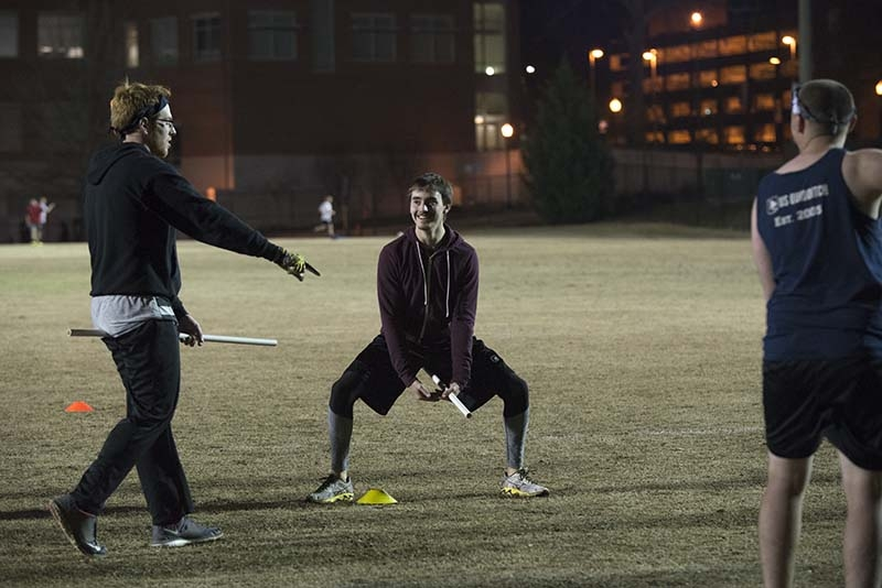 Quidditch Muggles Can Play Too Uncg Recreation Wellness