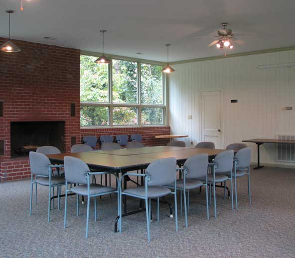 lakeside lodge interior image